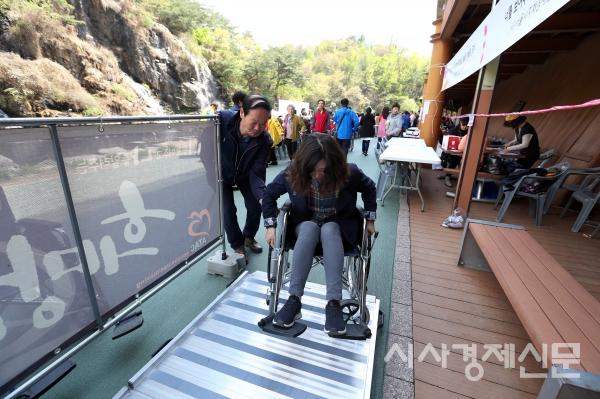 지난해 개최된 서대문구 장애인 한가족 한마당 행사. 올해는 19일 다채로운 체험 프로그램과 함께 19일 장애인 한가족 한마당 행사가 펼쳐진다.
