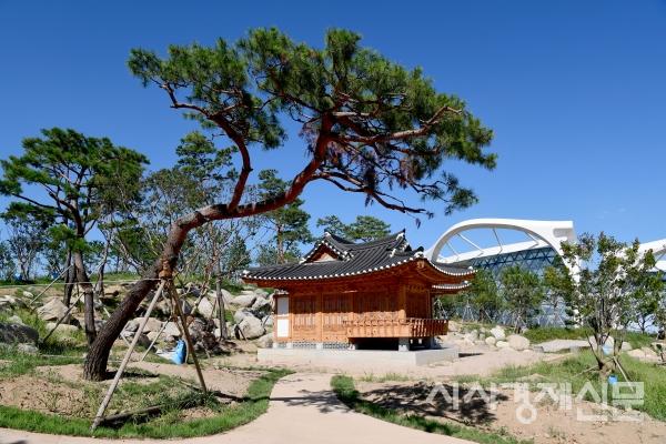 서울식물원 주제원 정자.