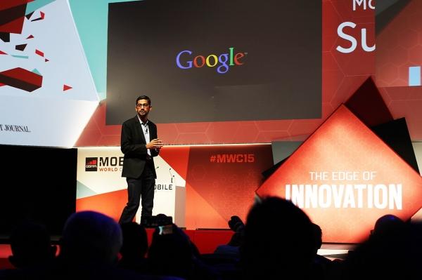 """피차이는 또 """"인도가 다음 혁신의 물결로부터 이익을 얻을 뿐만 아니라, 그것을 주도할 수 있도록 하는 것이 우리의 목표""""라면서. """"함께 일하면, 우리의 전성기가 여전히 우리 앞에 있다""""고 강조했다.(사진 : 위키피디아)"""